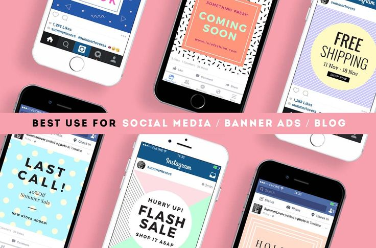 Social Media Banner Pattern vol.1 by Zeus on @creativemarket
