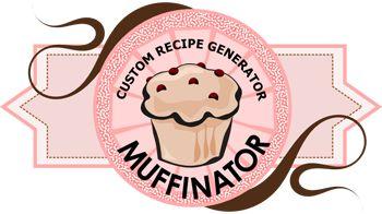 geniale: generatore di muffin: in base agli ingredienti selezionati, genera la ricetta dei tuoi muffin!