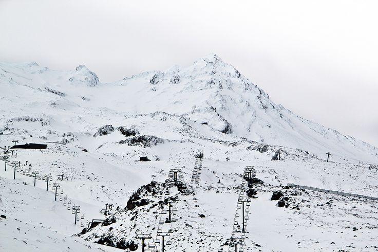 Turoa Skiefield on Mount Ruapehu