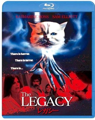 The Legacy 1978 Blu Ray Alt Horror Sci Fi Thriller And Cult Films