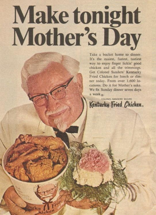 kentucky fried chicken july 1968