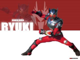 Kamen Rider Ryuki was the first big change in Kamen Rider's themes and marketing. Changing the Riders powers to a sort of card game and featuring a surprisingly dark plot with a large cast of Riders and many, many twists. This series was eventually adapted into Kamen Rider Dragon Knight having been chosen for it's large cast for better marketing and sales. (Mangahead333, 2011)