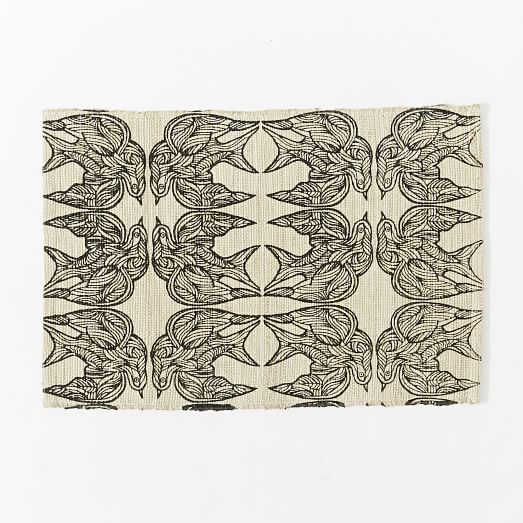 Jute Rug Dust: Patch NYC Swallow Jute Rug - Natural