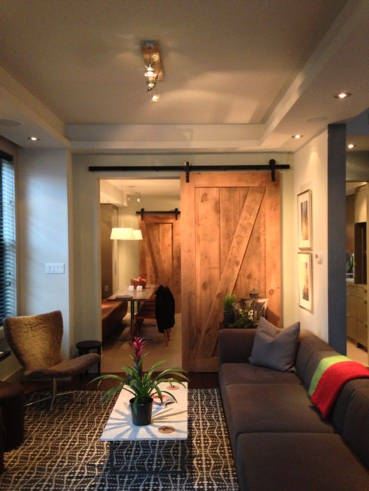 35 best images about sliding barn doors on pinterest for Barn doors to separate rooms