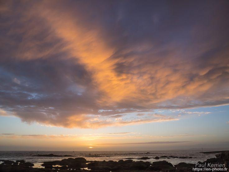 fin de journée à la pointe de Mousterlin  - à Fouesnant  © Paul Kerrien 2018 https://en-photo.fr Finistere Bretagne