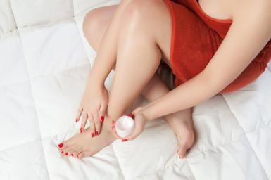 Dry, cracked feet are never attractive. If you can't afford a fish pedicure, get your feet sandal-ready with this five-step homemade foot scrub recipe.  The added effects of milk (a natural exfoliant), combined with sugar, oil and a pumice stone works wonders on feet. 15 minutes will make a huge change on your skin.