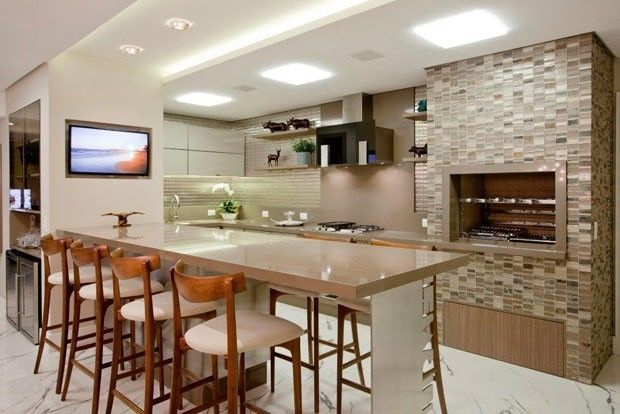 15 ambientes com churrasqueira   http://casavogue.globo.com/Interiores/Ambientes/noticia/2014/09/15-ambientes-com-churrasqueira.html
