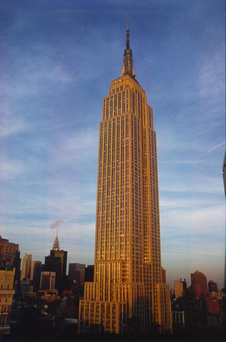 empire state building | Empire State Building w Nowym Jorku (USA) - 449 m wieżowiec