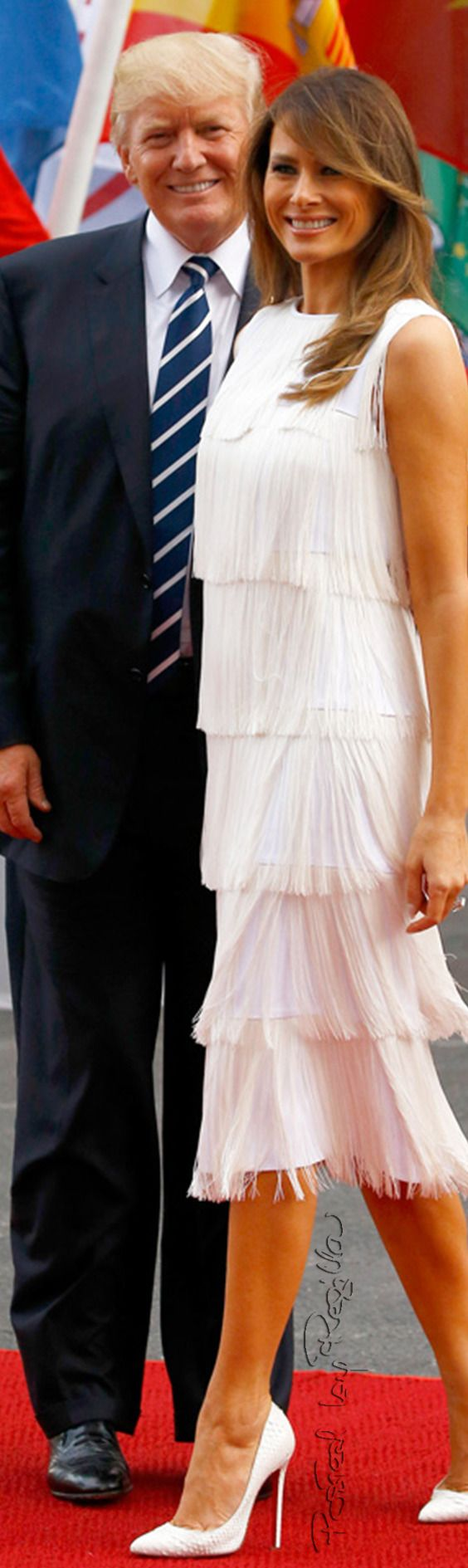 Regilla ⚜ Donald Trump and Melania at the G20 summit in Hamburg, 2017