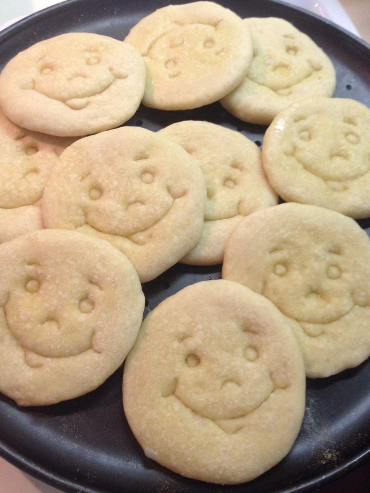 Pizzette sorridenti per la scuola.