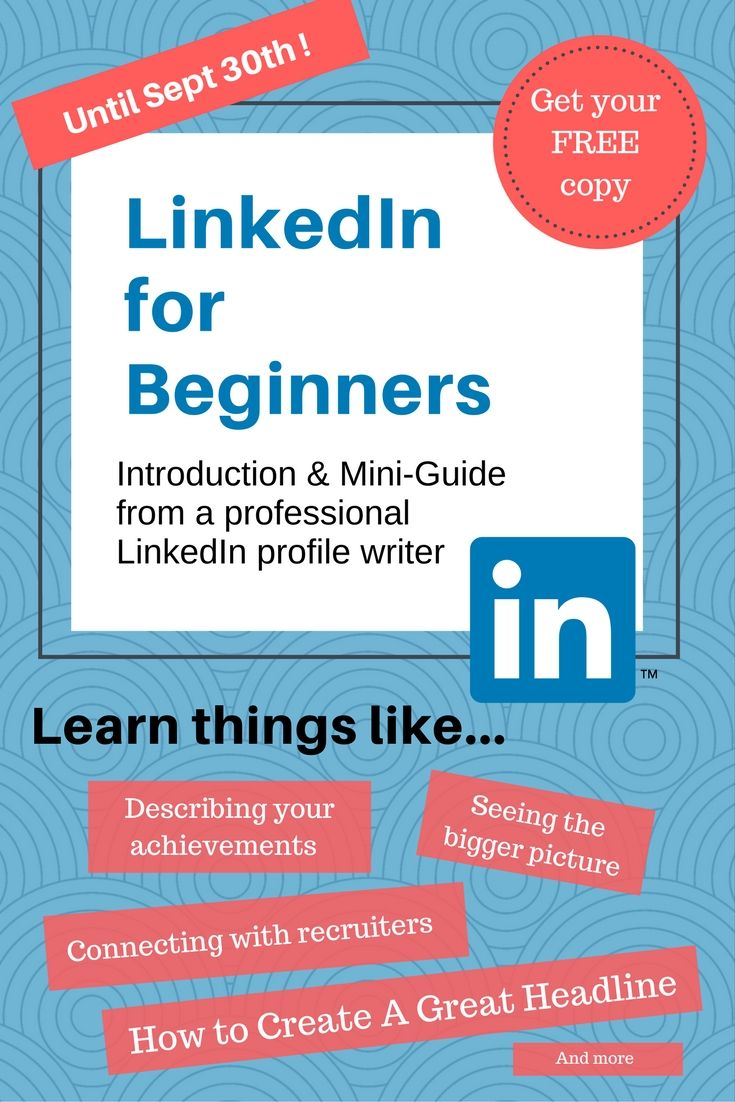 Free copy + 5 free header graphics. LinkedIn is a powerful tool to bring attention to your personal brand. A high impact profile gives you control of your story, image and potential Google ranking. Not just for 'business people', it's highly beneficial for new grads, career starters, creatives, entrepreneurs & freelancers. Written by a professional LinkedIn profile writer & resume consultant, this  compact guide uncovers what the audience wants to see & how to take an intelligent approach