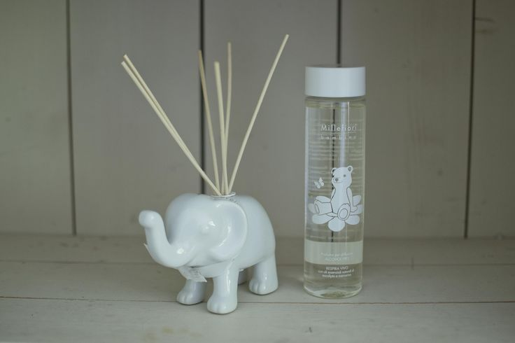 the perfect #scent for your baby's room #millefiori #elephant