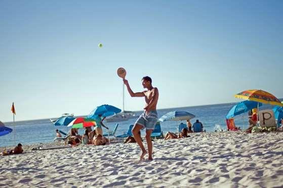 Beach fun - Kevin Sutherland/Bloomberg