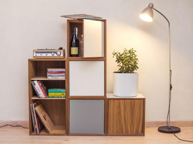 Pixel White Cabinet Large • WOO Design