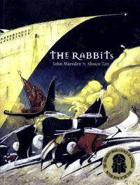 "content > social sciences > colonisation - texts; ""the rabbits"" by john marsden + shaun tan"