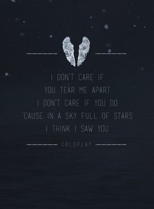 A Sky Full Of Stars - Coldplay Go after Jesus like this!
