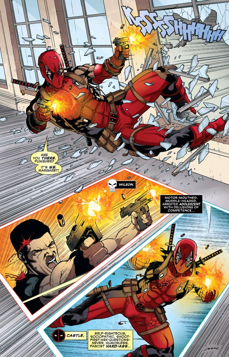 Deadpool Vs The Punisher #1