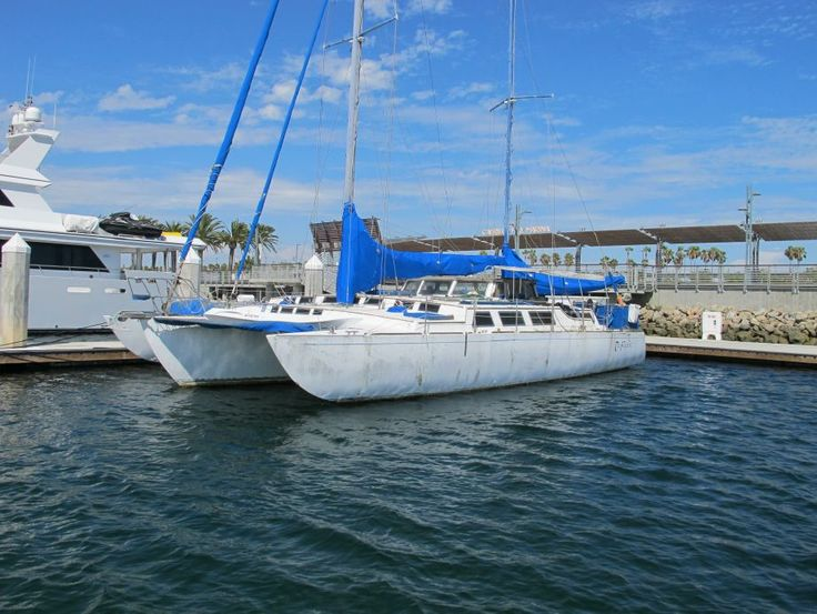 1997 Cross 55ft Norman Cross Trimaran Sail Boat For Sale - www.yachtworld.com | Trimaran Design ...