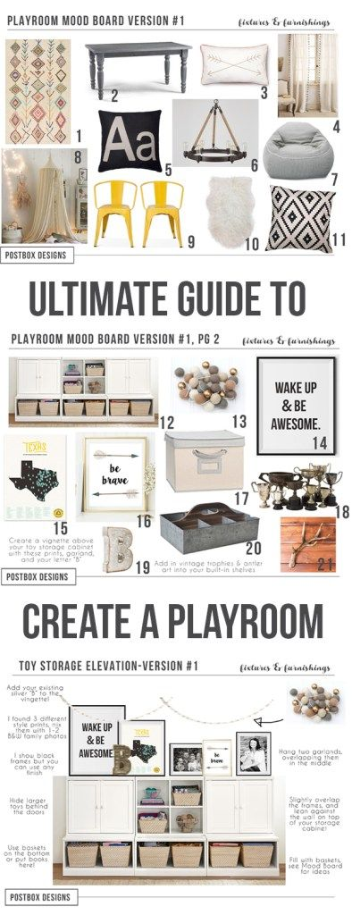 Rustic Playroom Mood Board by Postbox Designs, teepee, ikea, target, craft table, land of nod, playroom design, playroom decor, hang out space, target style, target pillows, pottery barn kids, neutral decor, rustic decor, e-design