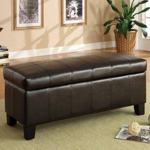 Lift Top Storage Bench for bedroom...Walmart.com