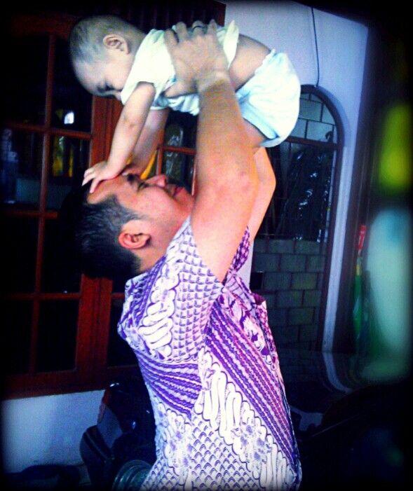 me and baby Darren