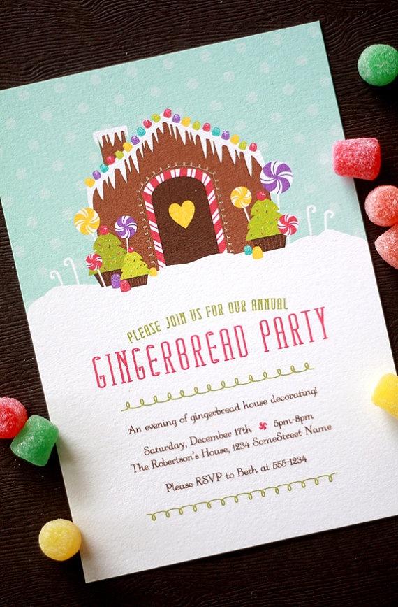 Bethany Shoda Kraicinski Pierce gingerbread house party