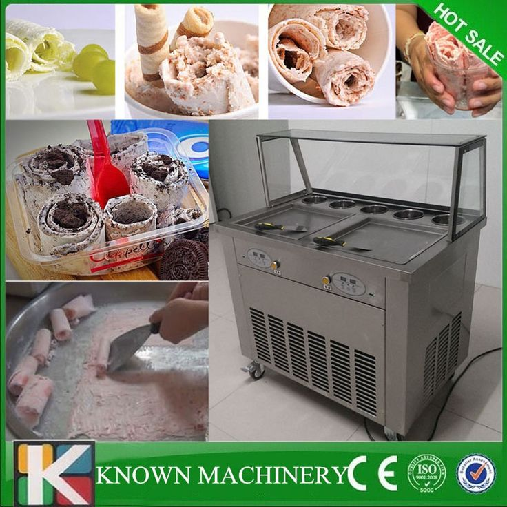 1150.00$  Buy here - http://alizuq.worldwells.pw/go.php?t=32721636808 - Cheap price with frond glass thailand 2 pan fry ice cream roller machine,ice cream roll freezer machine 1150.00$