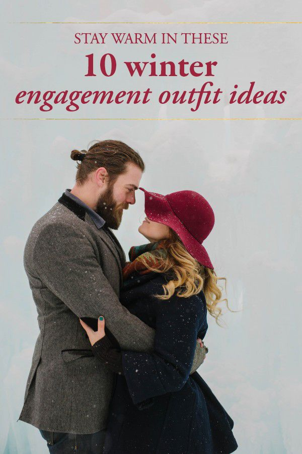 The cutest winter engagement outfit inspo | Darling Photography