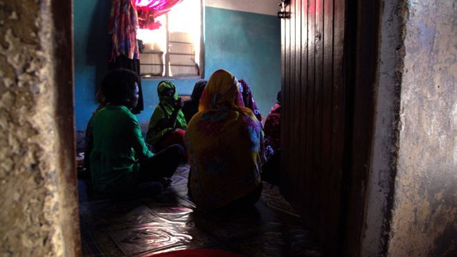 """""""They'd bring two or three men for each woman every night,"""" says another. """"We would be raped repeatedly."""" Some women were forced to become the """"wives"""" of al-Shabab militants, it appears, while others were held as slaves in a brothel."""