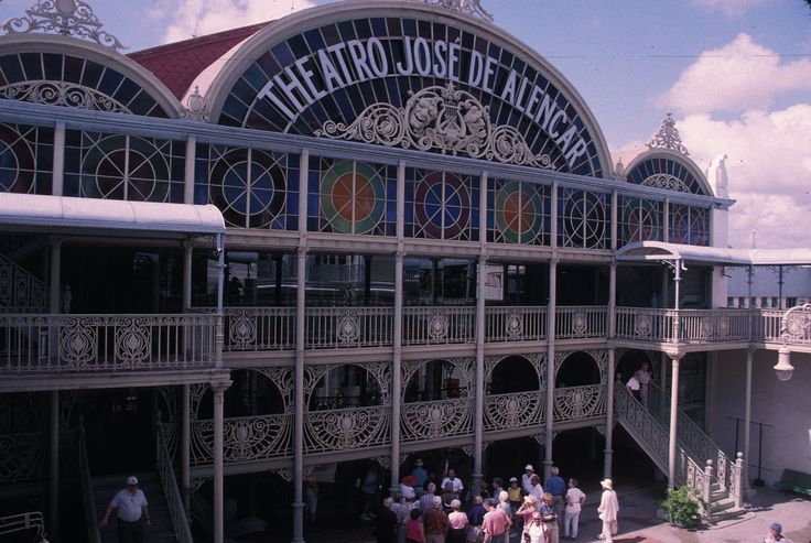 Immerse yourself in the arts with a visit to the Jose de Alencar Theater in #Fortaleza #Brazil this summer.  See all of Fortaleza's art with a vacation rental and see the wonderful street art and crafts the locals produce.