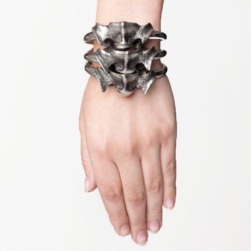 Stacked Vertebrae Bracelet by Skingraft | Street Anatomy