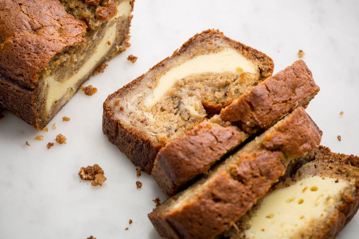 If You're Not Stuffing Your Banana Bread With Cheesecake, You're Doing It Wrong