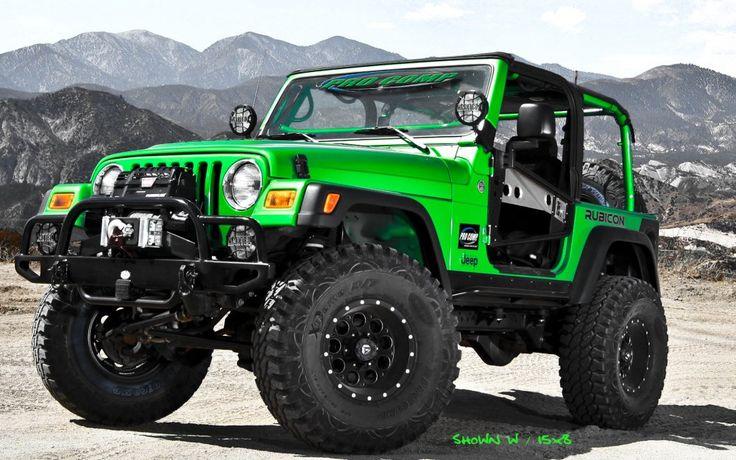 Fuel Pump Matte Black Wheels On 2011 Jeep Wrangler I