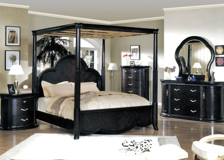 black canopy beds search bedroom sets