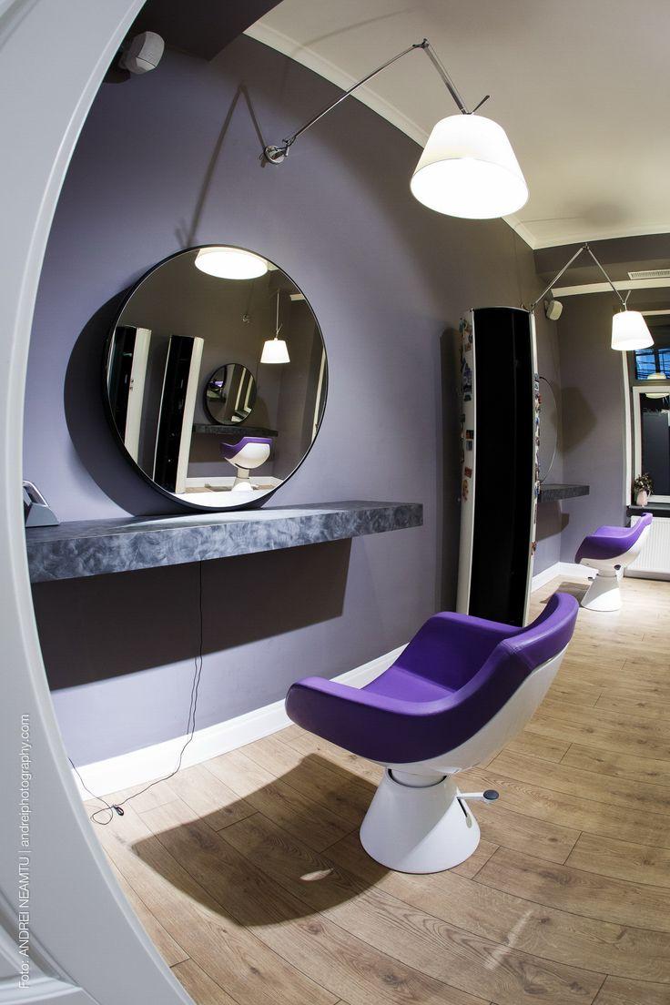 A Combination of Modern and Classic - Beauty Salon Interior Design Ideas