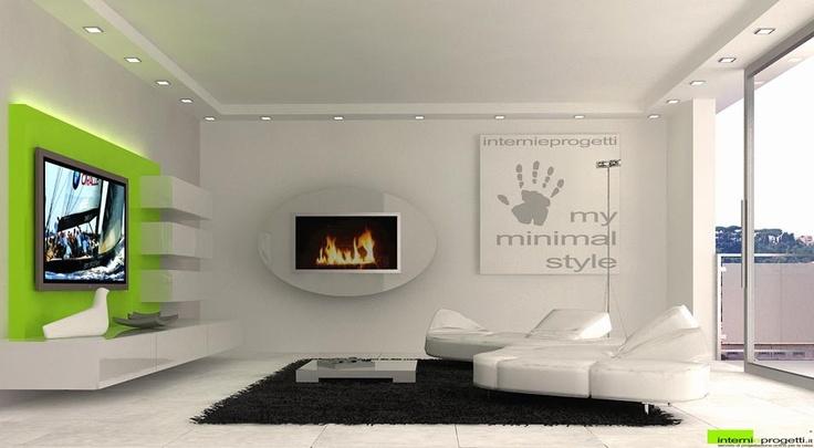 Living Room - Photorealistic Render
