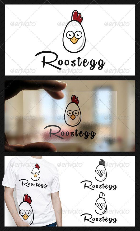 Chicken Farm  Logo Design Template Vector #logotype Download it here: graphicriv...