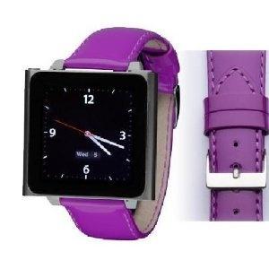 Wrist Jockey Fashionista - Purple Patent Leather (iPod nano watch band) (Electronics) #iPod