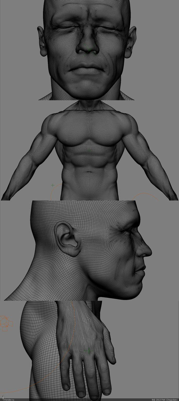 RENDERU.COM -> People -> Terminator's Body