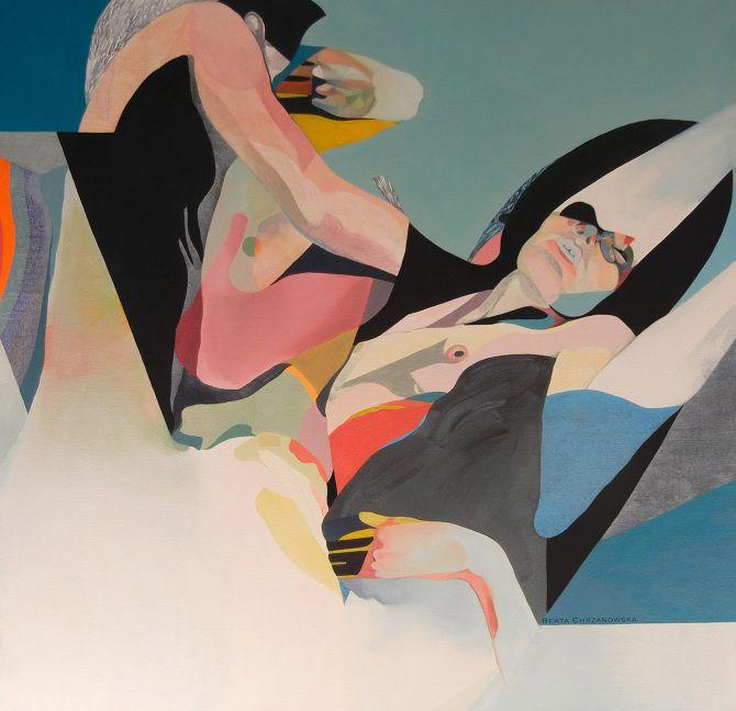 Painting by Beata Chrzanowska / Contemporary Art