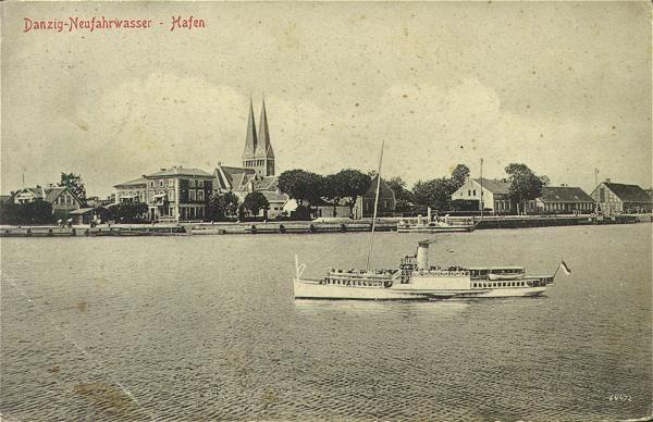 Widok na Nowy Port,Zakręt Pięciu Gwizdków