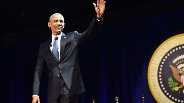 """President Barack Obama delivered his Farewell Address in Chicago on January 10, 2017. """"Yes we did, Yes we can"""" : Obama Addresses the Nation One Last Time.   www.RonniingAgainstCancer.com   Supported by Ronald Tintin, Super Professeur,mobile application of Super Professeur :mobile.superprofesseur.com , http://mobile.ronningagainstcancer.xyz  and Ronning AgainstCancer.  #BarackObama #ObamaFarewell #YesWeCan #US #PresidentBarackObama #FarewellSpeech"""