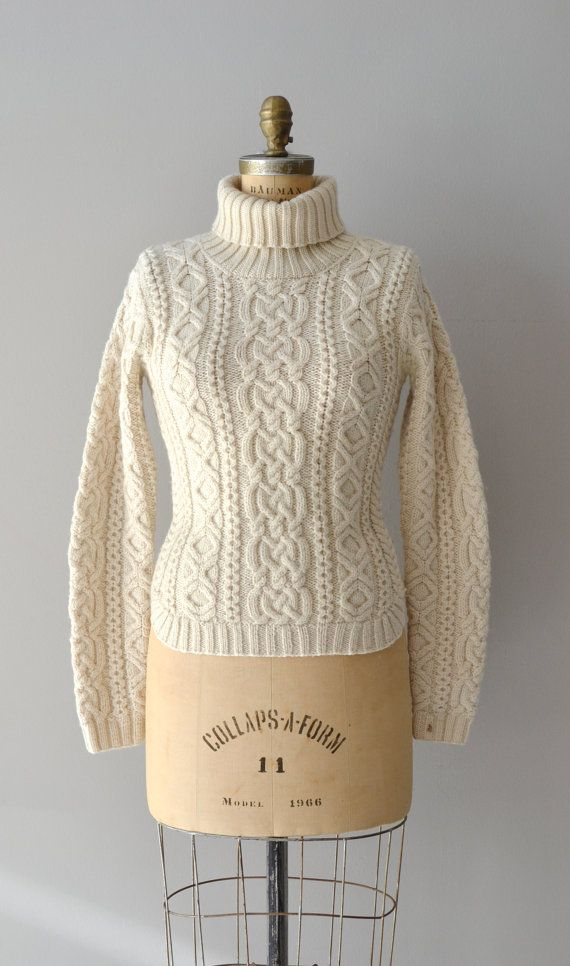 Cable knit sweater by DearGolden