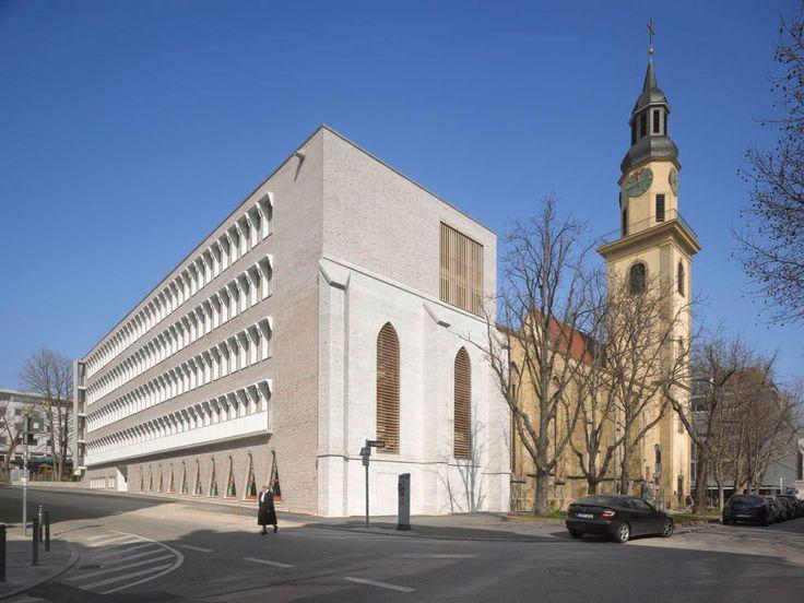 Roland Halbe - www.rolandhalbe.de, Lederer + Ragnarsdóttir + Oei · New building Hospitalhof Stuttgart · Divisare