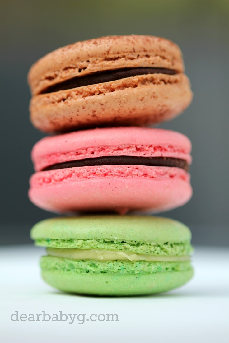 Raspberry Macarons - A Macaron Masterclass with Cake Love - Couture Cakes   Dear Baby G