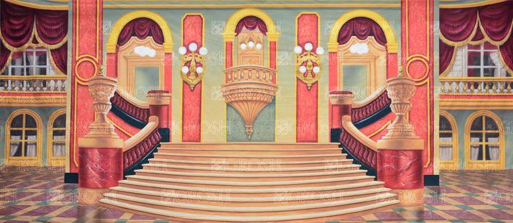 Grand Ballroom Stage Backdrop