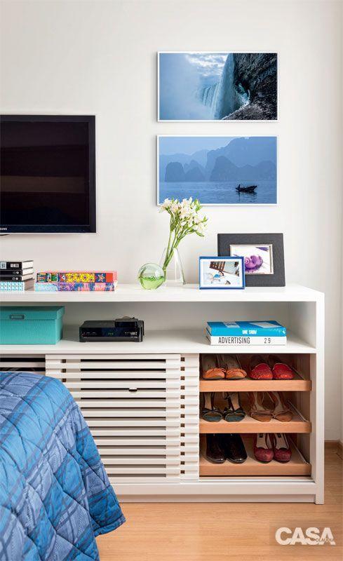 Blog de Decoração Perfeita Ordem: Sapatos e botas... Soluções simples que te ajudam a organizá-los