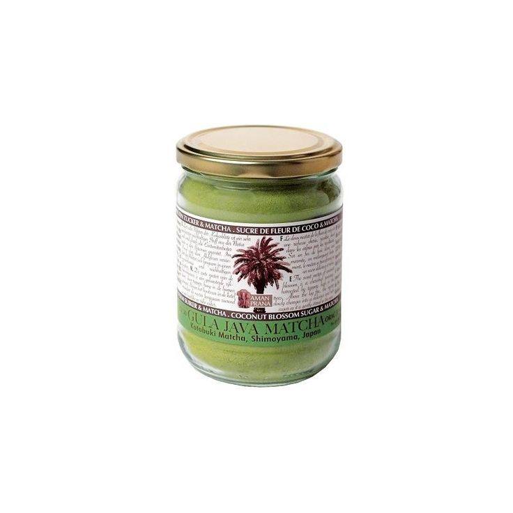 Eco al grano. Té Matcha con azúcar de flor de coco Amanprana