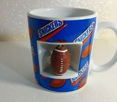 Snickers Football Mug Coffee Cup Mars Candy Bar Galerie 2003