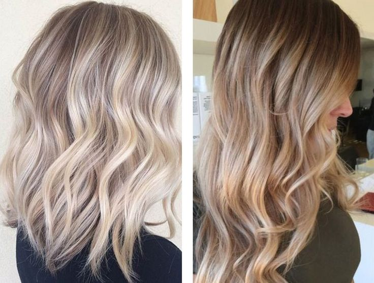 Ash blonde hair colors mistaken
